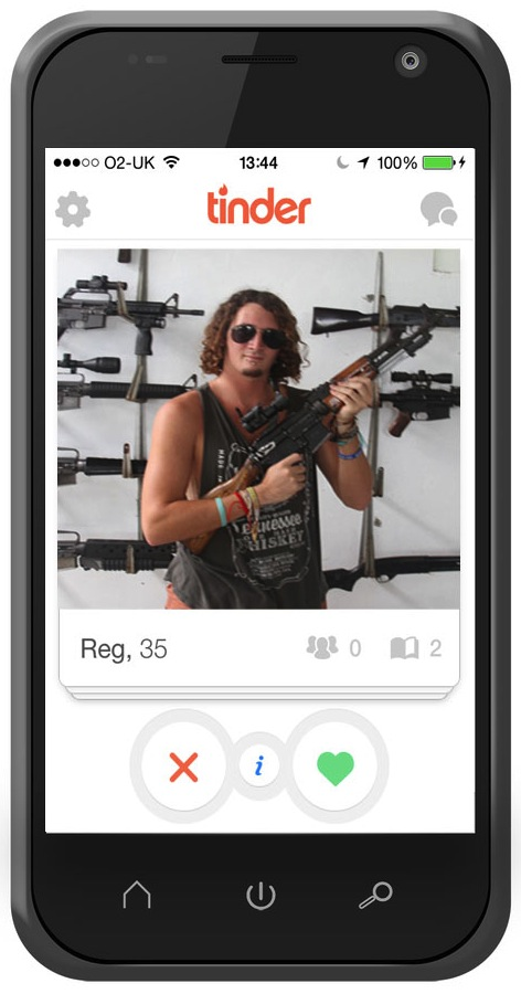 Weapon Pose Tinder