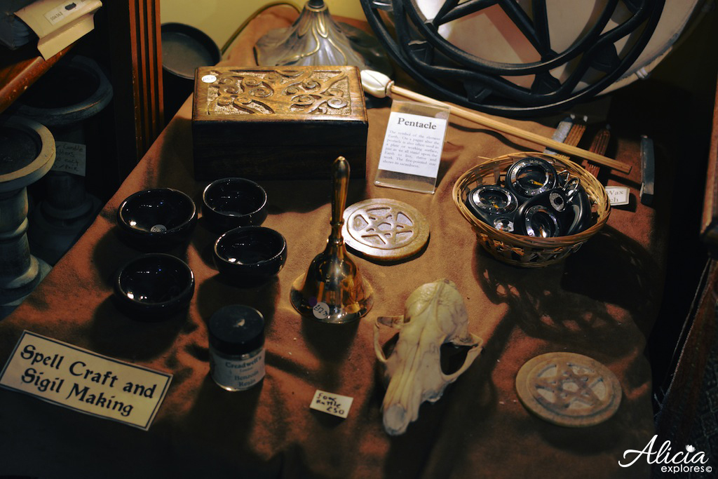 Spell making area