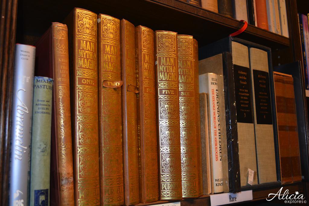 Rare books at Treadwell's