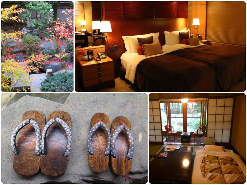 Kyoto Garden Ryokan and Shangri-La Hotel in Tokyo