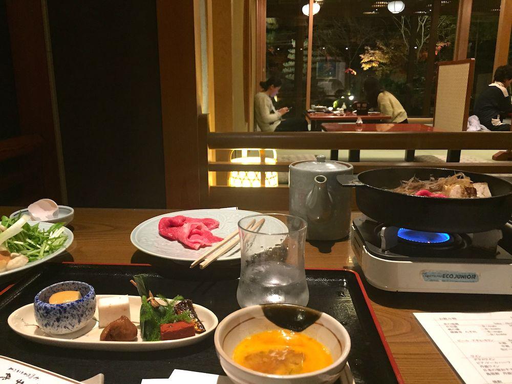 View of Kyoto Garden Ryokan Restaurant