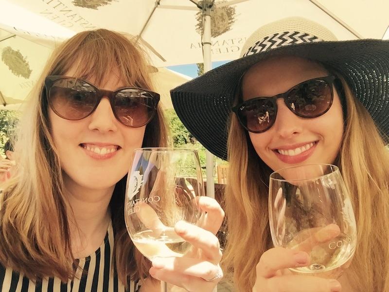 Wine at Constantia Glen