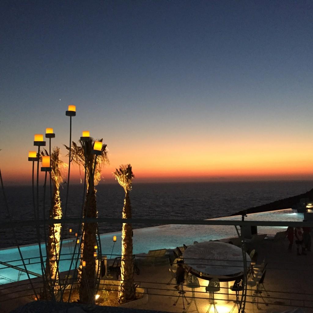 sunset pathos