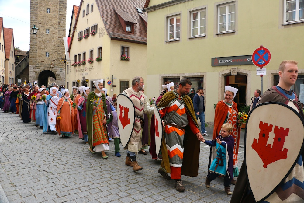 Rothenburg Parade in Centre