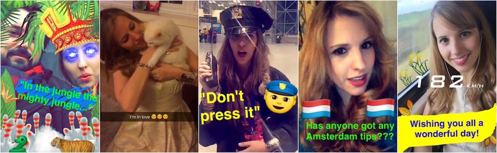 aliciaexplores snapchat collage
