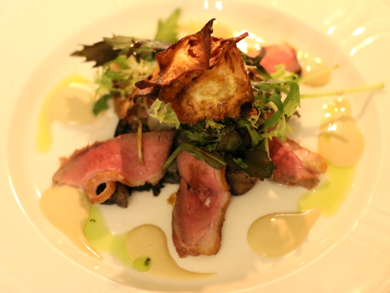 Duck salad Hintlesham