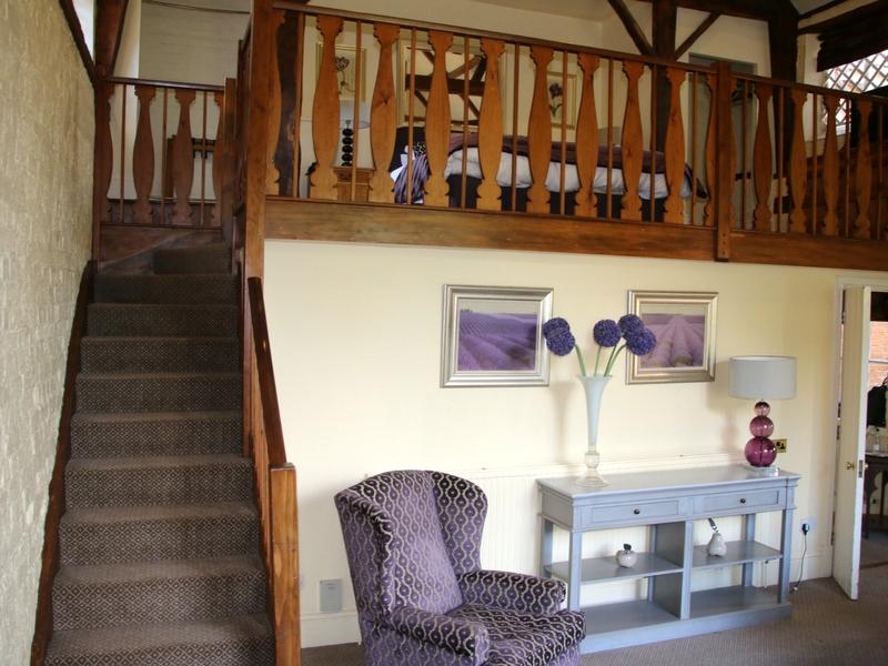 Stairs upstairs Hintlesham