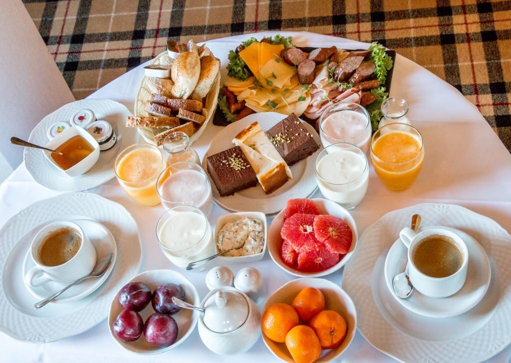 Cakes at Aries Hotel Breakfast Zakopane