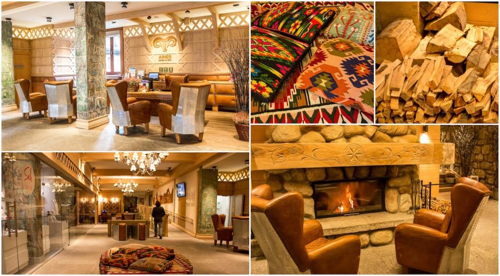Aries Hotel & Spa Zakopane Lobby