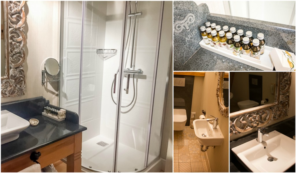 Bathroom at Aries Hotel Zakopane